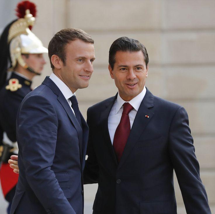 Peña Nieto condena en Francia la violencia venezolana