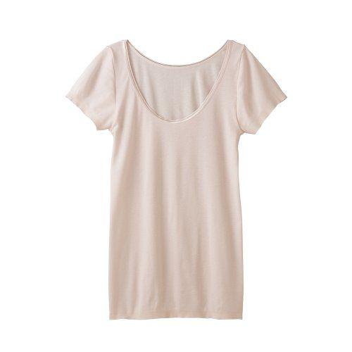 【インナーシャツ】グンゼGUNZE KIREILABO 完全無縫製 さらさら接触冷感 スキンタッチ加工 2分袖インナー 日本製 - http://ladysfashion.click/items/120549