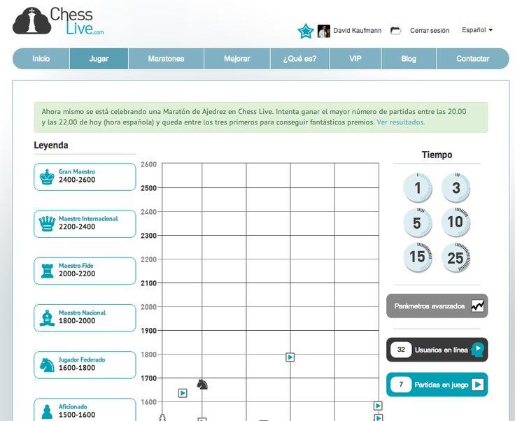 En juego la 16ª Maratón de Ajedrez Online de Chess Live. ¿Llegaremos a los 1000 jugadores? http://chesslive.com :)