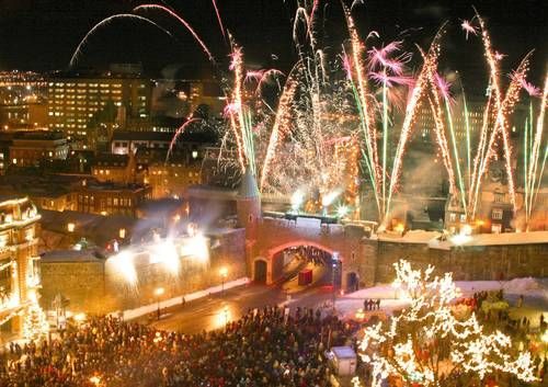 Quebec City Winter Carnival...begins last week-end in January for 2 weeks.  Pack your long underwear!