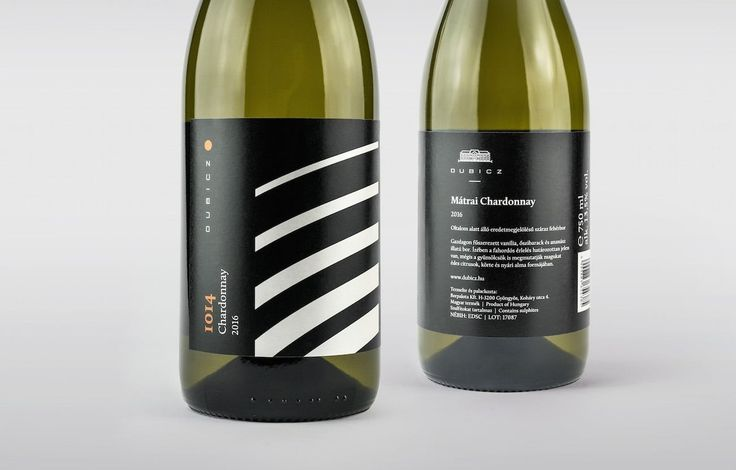 Dubicz Winery Label Design by Graphasel Design Studio  http://mindsparklemag.com/design/dubicz-winery-label-design/