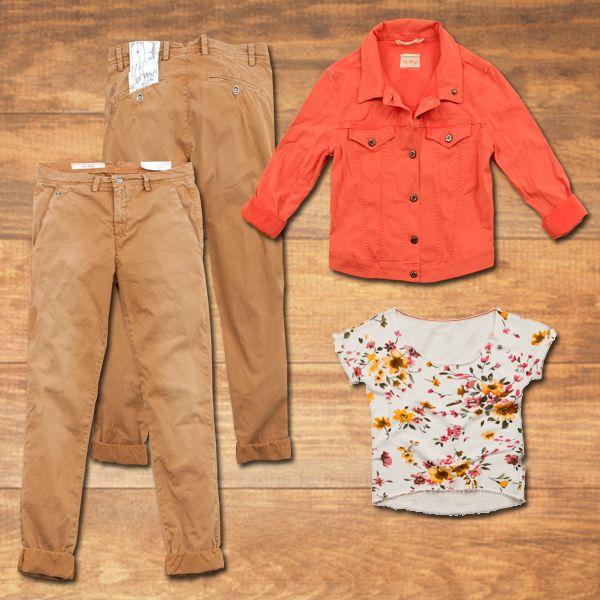 Wild West inspiration #40weft #SS2014 #womenfashion #floralprint #sweatshirt #boyfriendfit #denimjacket #wildwest  www.40weft.com