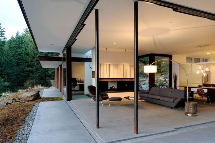 Residence design-baie vitree