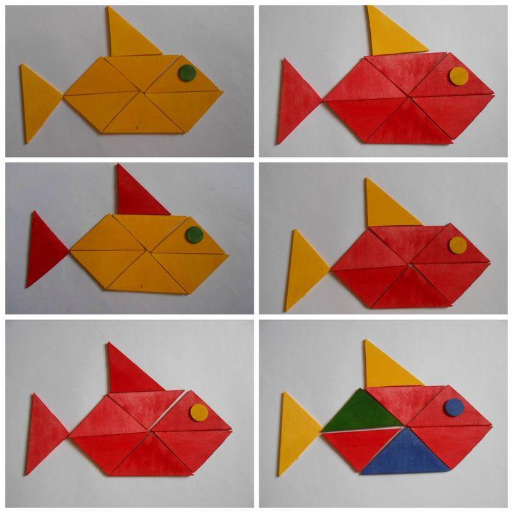Geofiguren - Vissen