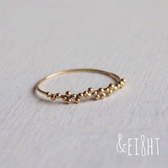 【再販】K18 tsubu ring – #ring #rings #tsubu #…