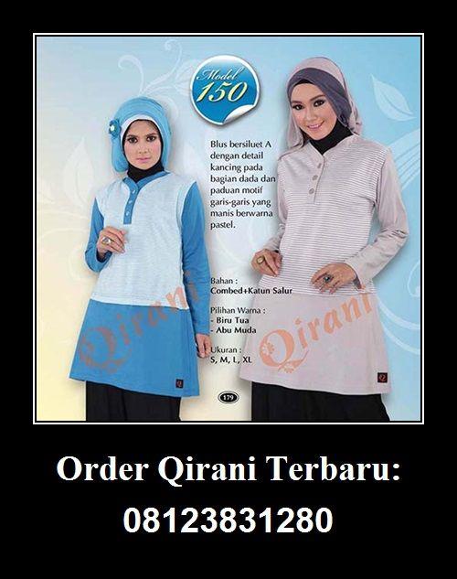 Qirani Blouse Model 150, Hubungi : HUBUNGI :  Whatsapp : +62 812-3831-280  SMS : +62 812-3831-280 BBM : 5F03DE1D