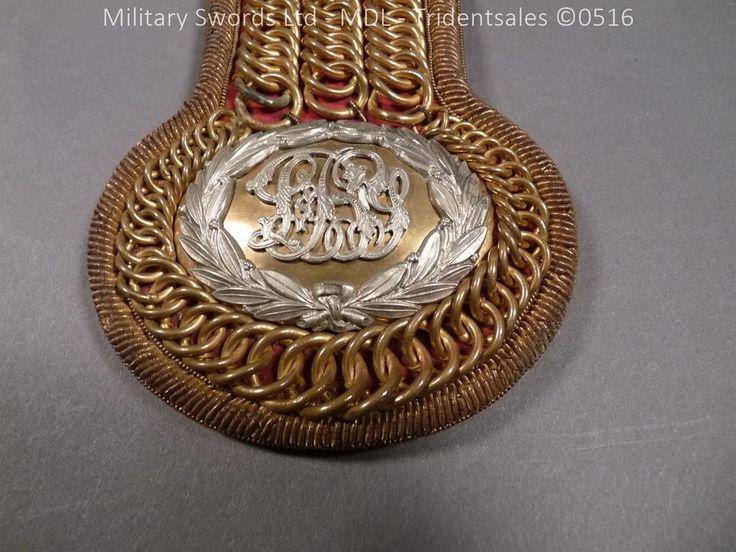 Scottish East Lothian Yeomanry Epaulettes