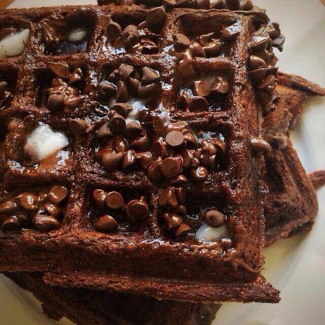 Gofeee con chocolate