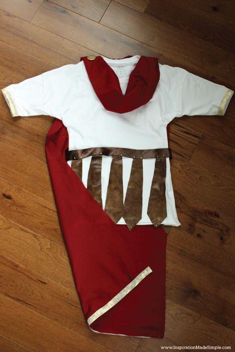 DIY Ares Greek Mythology Costume