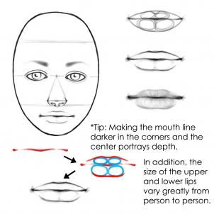 Face Drawing Tutorial | how to draw real faces, draw faces step 6