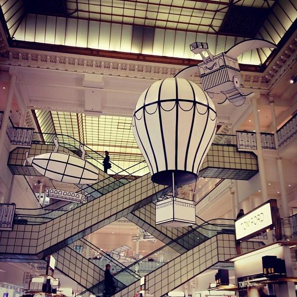 Shopping: Le Bon Marché, Paris