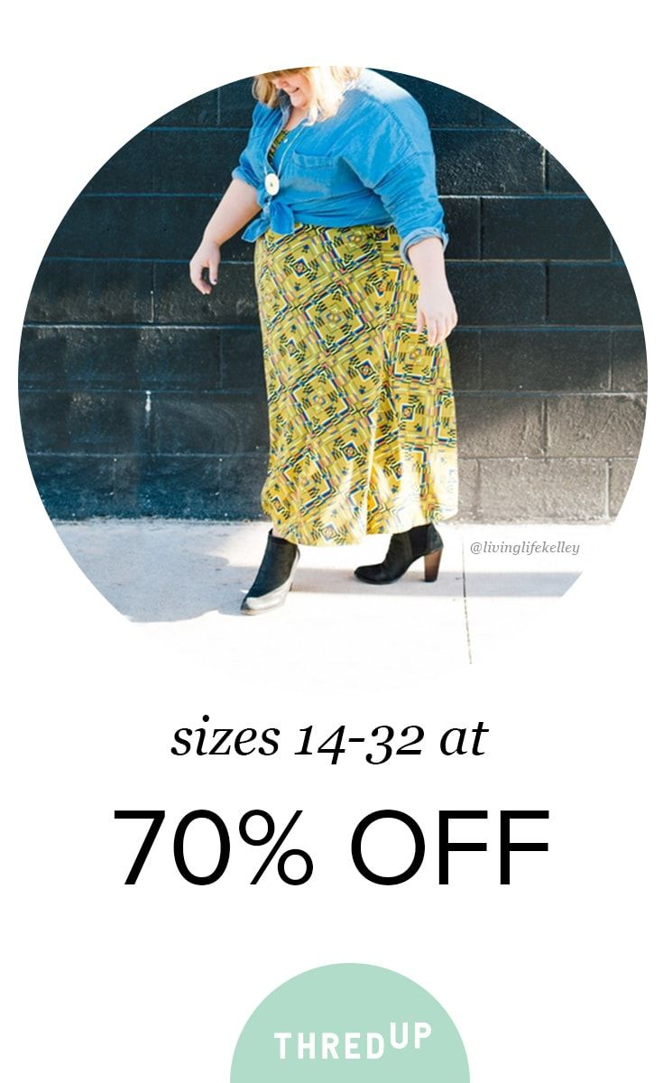 Life is short. Wear the dress. Rock the jeans. Dance in heels. Self-confidence is the best outfit. Find all the styles that make you look and feel amazing. Gwynnie Bee, Talbots, and Lane Bryant, always 70% off retail price. Sign up today.