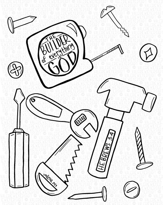 bible crafts coloring pages - photo#13