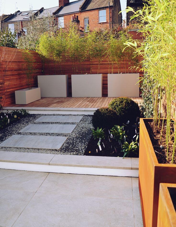 Islington Garden Builders Anewgarden London Just finished this exciting commission for a client in Islington design by Tom Simpson