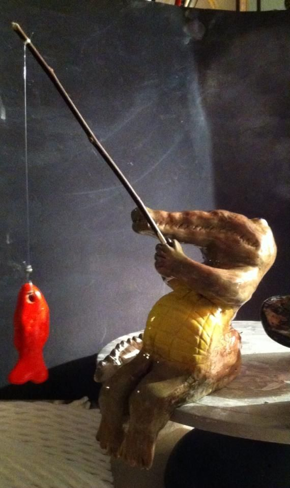 Fishing Croccodile - Pedro