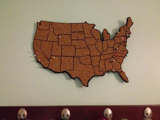 cork travel map | charleston crafted