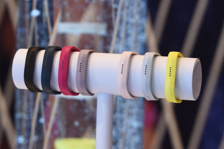 Fitbit's Flex 2, which starts shipping tomorrow morning. It's a slimmer version of other Fitbit models like the Blaze or Surge, but for about $100 this fitness tracker will count your steps, calories, let you log your food through the app and you can even go swimming with it.
