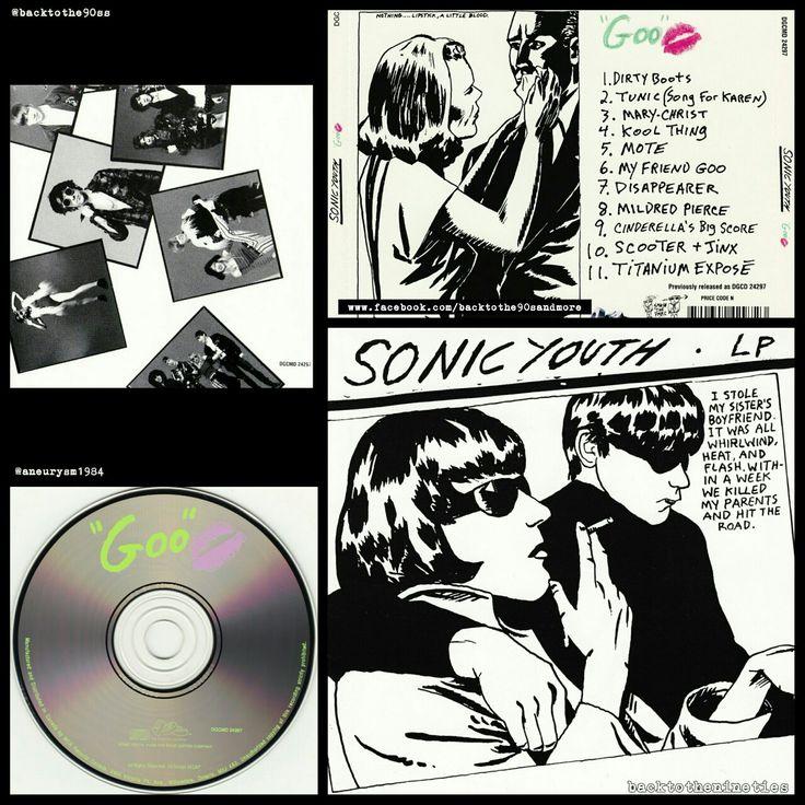 #HappyAnniversary 27 years #SonicYouth #Goo #album #alternative #experimental #noise #rock #music #90s #90smusic #90srock #90salternative #90saltrock #backtothe90s #ThurstonMoore #LeeRanaldo #KimGordon #SteveS5helley #RonSaintGermain #JMascis #NickSansano #90salbum #90sCD #90sband #backtothenineties @sonicyouthofficial #CD #US #1990