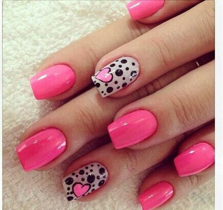 Pretty pink nail design - 51 Best Nails Images On Pinterest Make Up, Pretty Nails And Pink