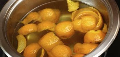 The alchemy of orange peels and hot water yields sweet gold.