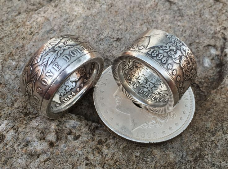 """Coin Ring """"Swedish Wrap Method"""" vs.  the """"Fat Tire"""" Look, a Side-by-Side..."""