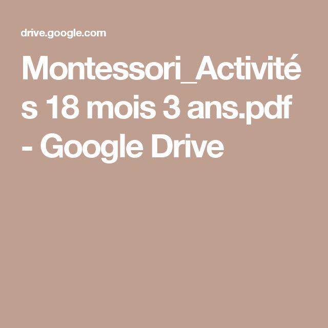Montessori_Activités 18 mois 3 ans.pdf - GoogleDrive