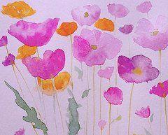 August Field Flowers  by Annabel Burton