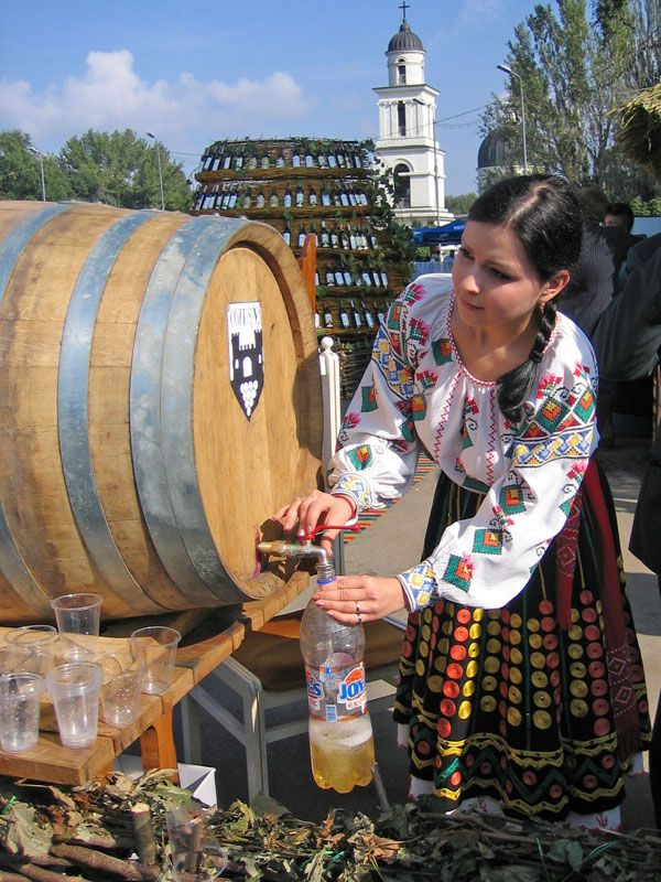 The Day of wine is a traditional holiday in Moldova. by Vadim