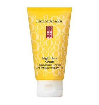 LIZABETH ARDEN EIGHT HOUR CREAM SUN DEFENSE FOR FACE SPF 50. 50Ml. 300 SEK. Browse more here: http://www.parelle.se/sv/product/41338/eight-hour-cream-sun-defense-for-face-spf-50 #Sweden #ParelleCosmetics #Travel #100Ml #Makeup #Sunblock #Skincare #Cosmetics #Elizabetharden