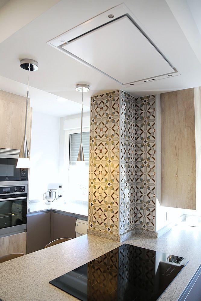 Cocinas de diseño. Proyecto Cocina Linea3 Abierto al Salón con una ...