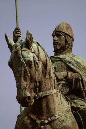 Saint Vaclav of Bohemia.