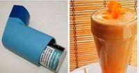 Vamos ensinar agora duas receitas muito especiais.Uma é um xarope poderosíssimo para tosse, asma, bronquite e outros problemas respiratórios.A outra é um suco, também excelente para tratar esses problemas.