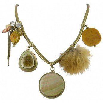 Collar Corto Animale Nature Bijoux 5 Elementos http://www.tutunca.es/collar-corto-animale-nature-bijoux-5-elementos