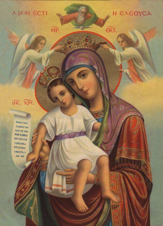 icon of Theotokos, orthodox