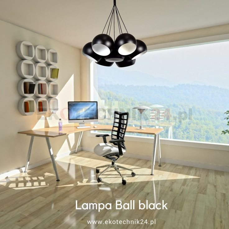 Lampa wisząca Ball black - white VII - Lampy wiszące