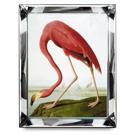 Framed Flamingo Art Print