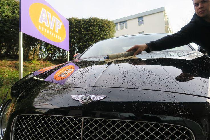 Fleissig trocknen nach der Handwäsche! www.avp-autopflege.ch