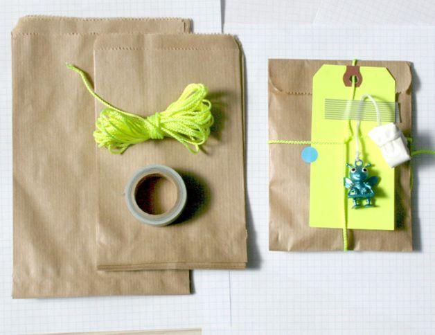 100 bruine papieren zakken: 12 cm van KidsPartyKitchen op DaWanda.com