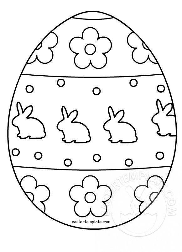 Pin Von Sveta Kaminskaya Auf Easter Malvorlagen Ostern Basteln Mit Papier Ostern Osterei Vorlage