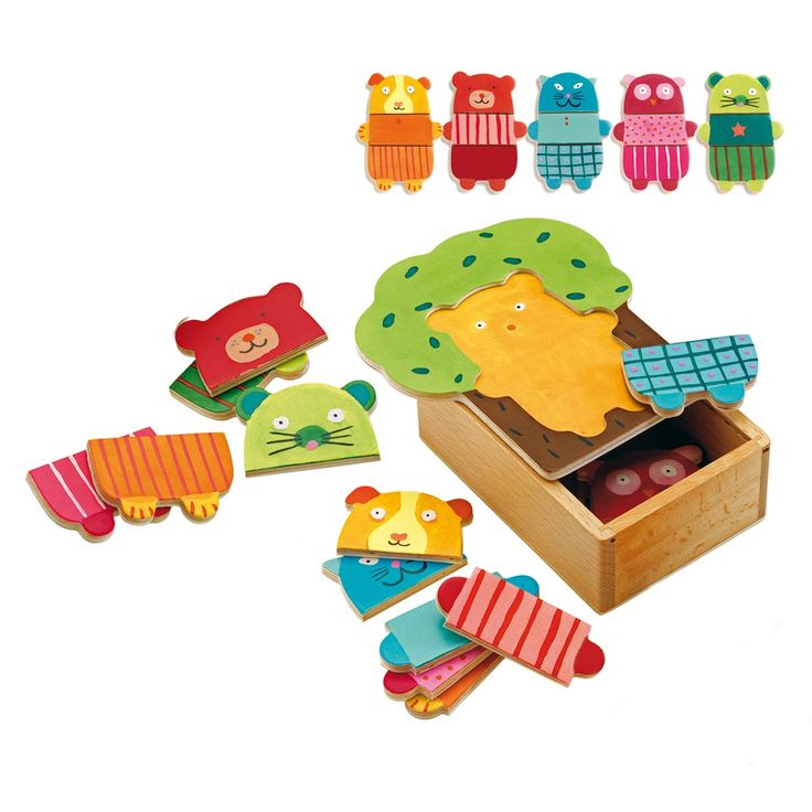 Puzzle Arbra doudou Djeco