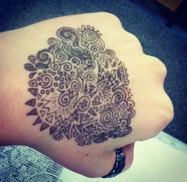 hand doodles Nell Beaumont