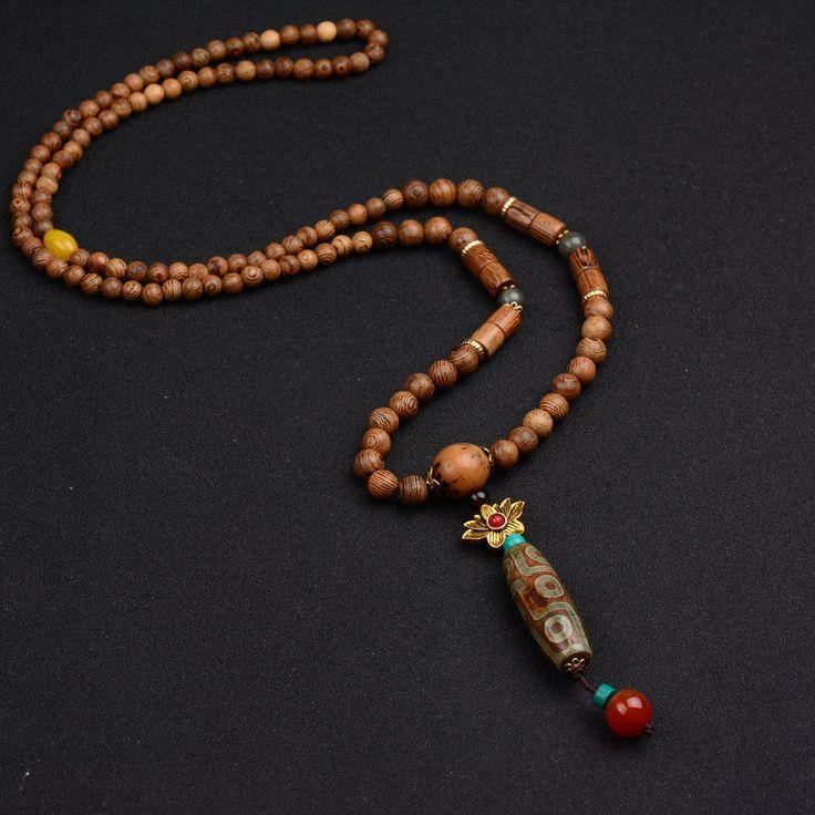 2016 Summer Bohemian Ethnic Vintage Turkish Jewelry Long Necklace Fashion…