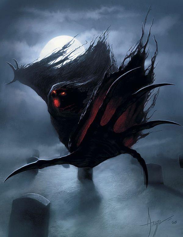 Amazing Wraith by Steve Argyle