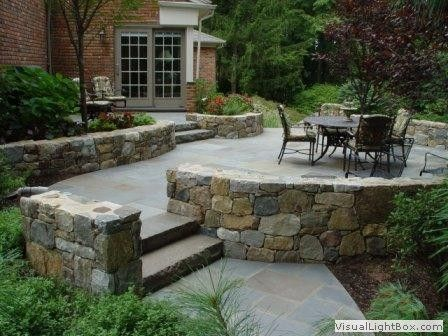 17 best images about raised patio on pinterest gardens for Fireplace on raised deck