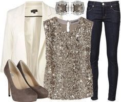 What to Wear? Denim and diamonds gala