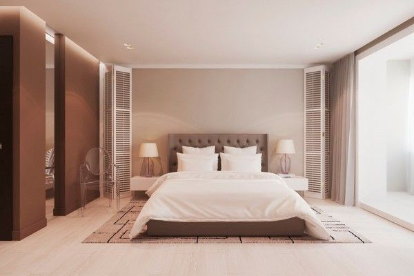 While guests may not generally find themselves in the bedroom, it's still important for the regular inhabitants to feel comfortable and welcome, too.