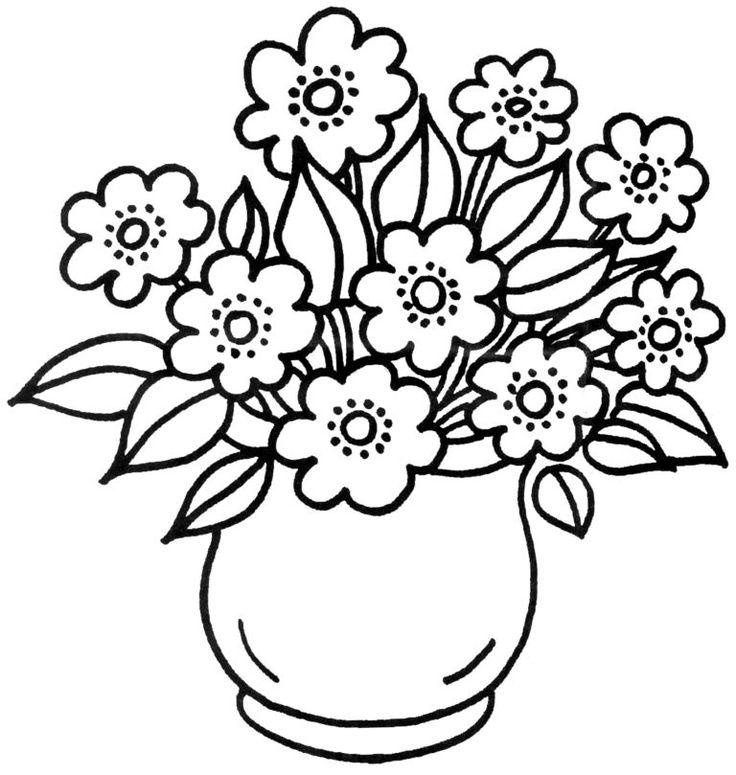 Malvorlagen Blumen   kostenlose Ausmalbilder   myToys Blog ...