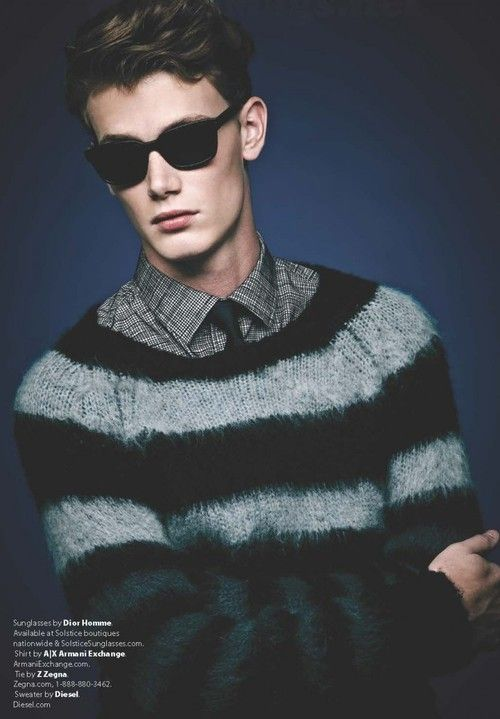 Malcolm De Ruiter by A.P. Kim for Essential Homme