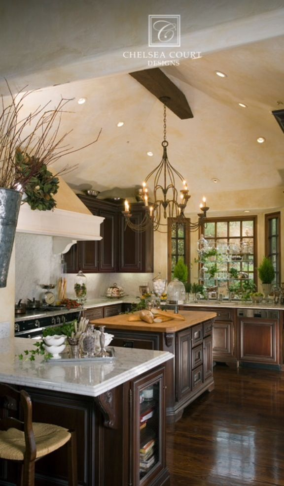1936 best images about kitchens eating areas on for Tuscan style kitchen lighting