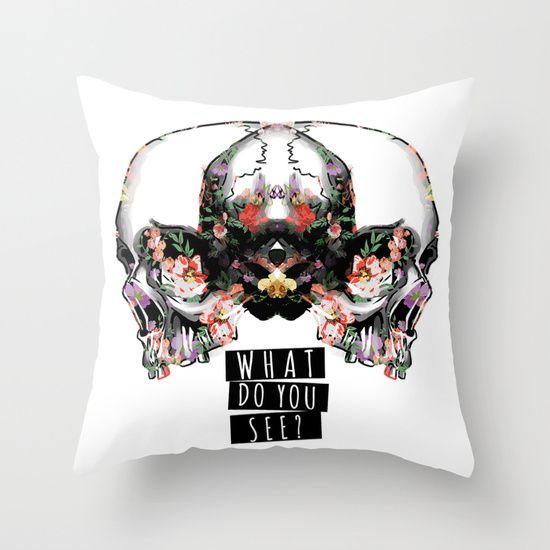 Skulls'n'Flowers Buy now on society6! $20.00